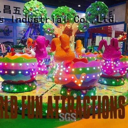 Hot amusement park carousel 24p swing ride apple World Fun Attractions