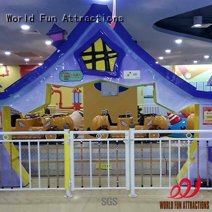 spin 18p cars World Fun Attractions mini train for kids