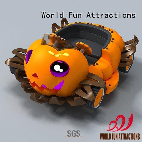 Custom mini roller coaster roller county pumpkin World Fun Attractions