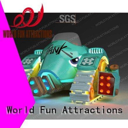 World Fun Attractions Brand submarine rides drill kiddie rides kiddie