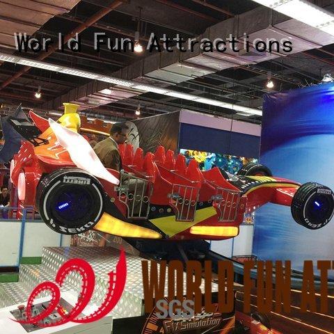 World Fun Attractions roller coaster for sale f1 parachute coaster naja