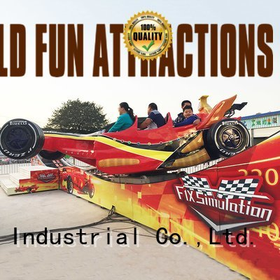 World Fun Attractions Brand free sightseeing samba roller coaster for sale