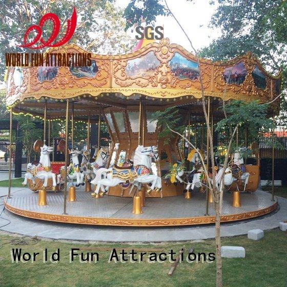 amusement park carousel cup 12p World Fun Attractions Brand