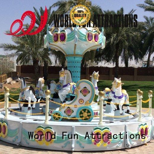 World Fun Attractions Brand 12 eddy surfing swing ride 24p