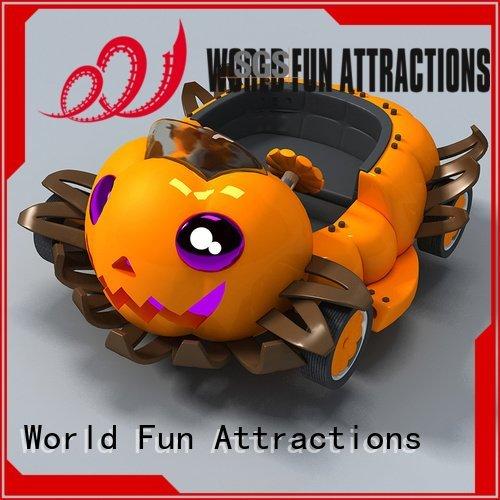 mini train for kids roller flat mini roller coaster World Fun Attractions Warranty