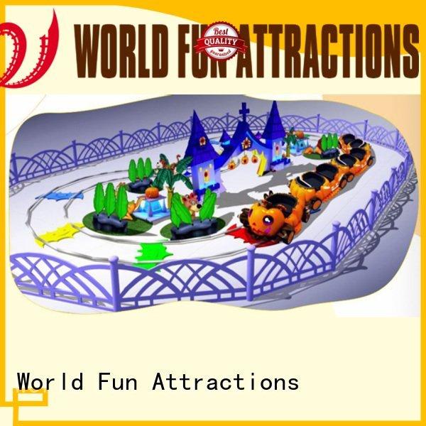 World Fun Attractions Brand jungle adventure ladybird mini roller coaster