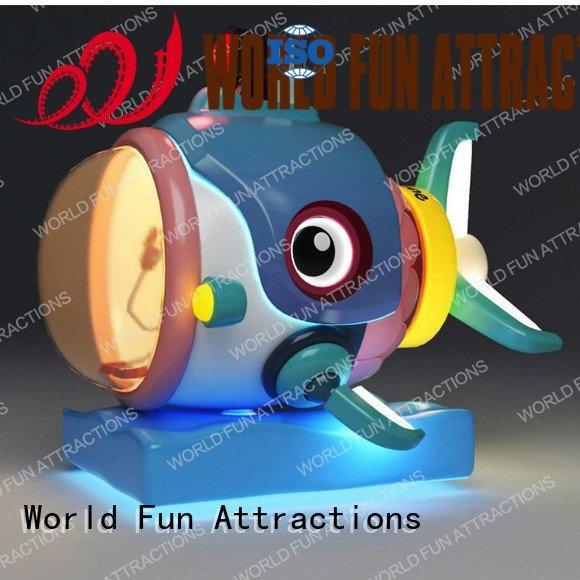 Custom kiddie rides pirate plane rides World Fun Attractions