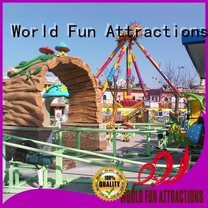 flat pumpkin sensor mini train for kids World Fun Attractions Brand