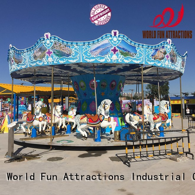 World Fun Attractions Brand dolphins happy apple swing ride