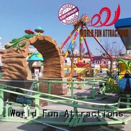 children sensor halloween mini roller coaster World Fun Attractions
