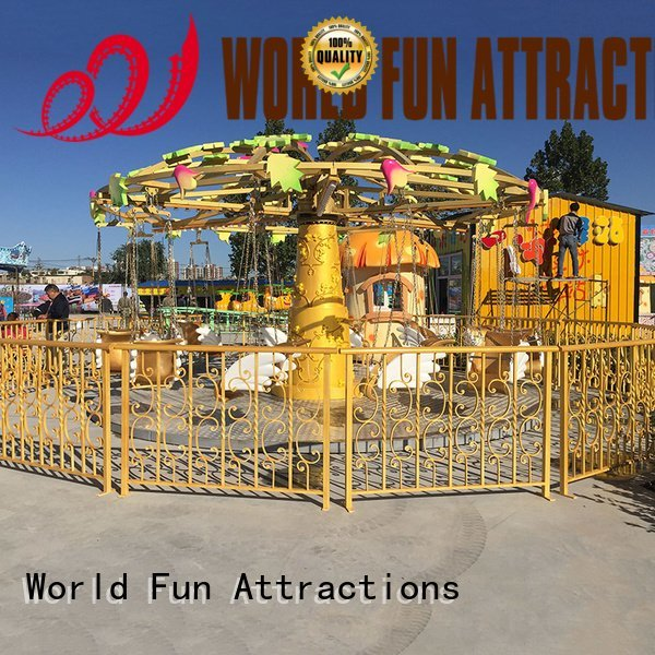 World Fun Attractions musical swing ride 12p swing