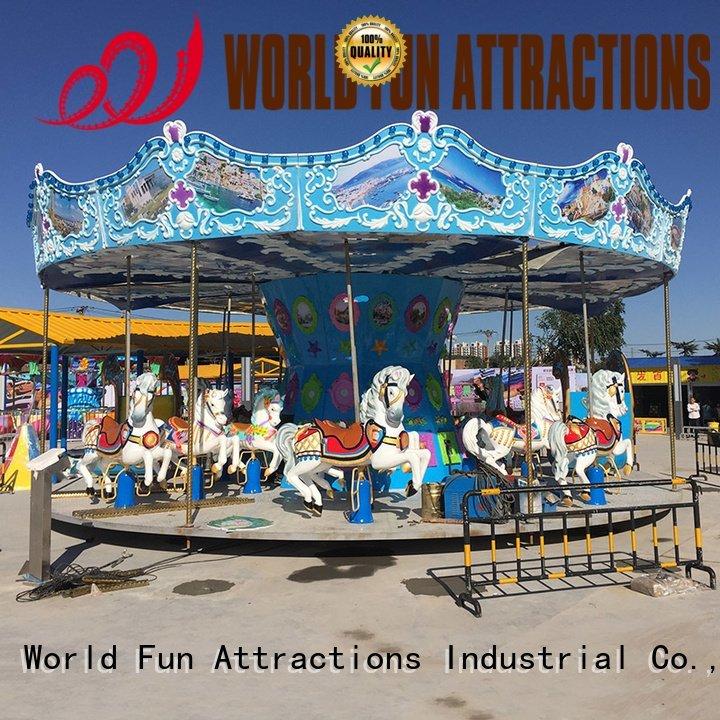 Custom dolphins swing ride revolving amusement park carousel