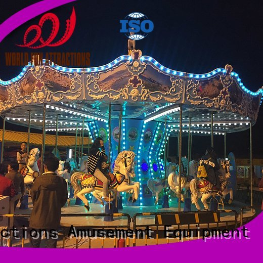 amusement park carousel flying carousel musical World Fun Attractions
