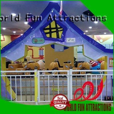 county mini roller coaster spin train World Fun Attractions