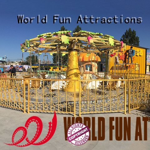 style carouselblue battle swing ride World Fun Attractions
