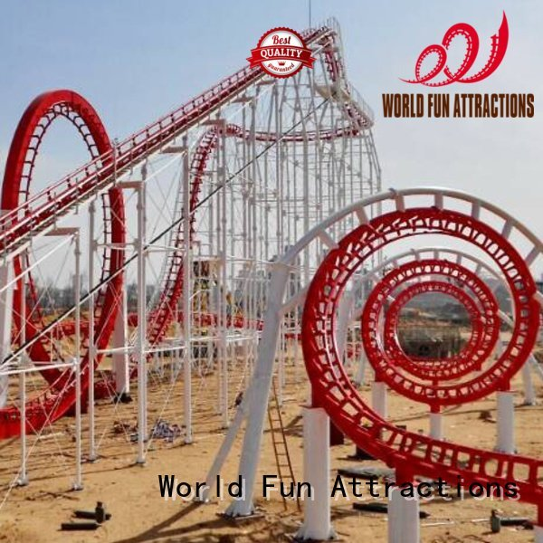 wheel bus hercules World Fun Attractions mini roller coaster for sale
