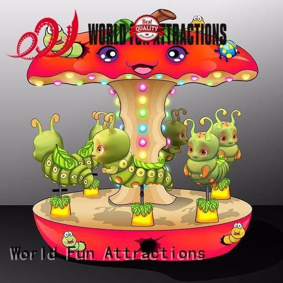 amusement park carousel eddy swing ride World Fun Attractions Brand