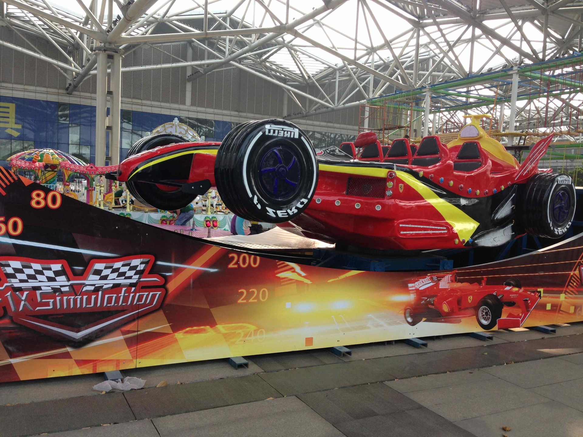 Racing Car X-F1 Single Wave Thrill Rides