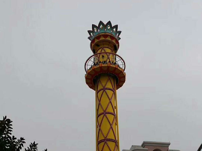 Drop Tower Giant Thrill Rides Funfair Midway Park Rides