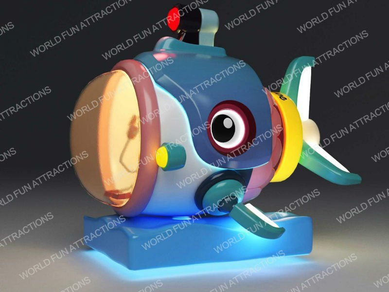 Kiddie Rides Submarine for children toddler baby