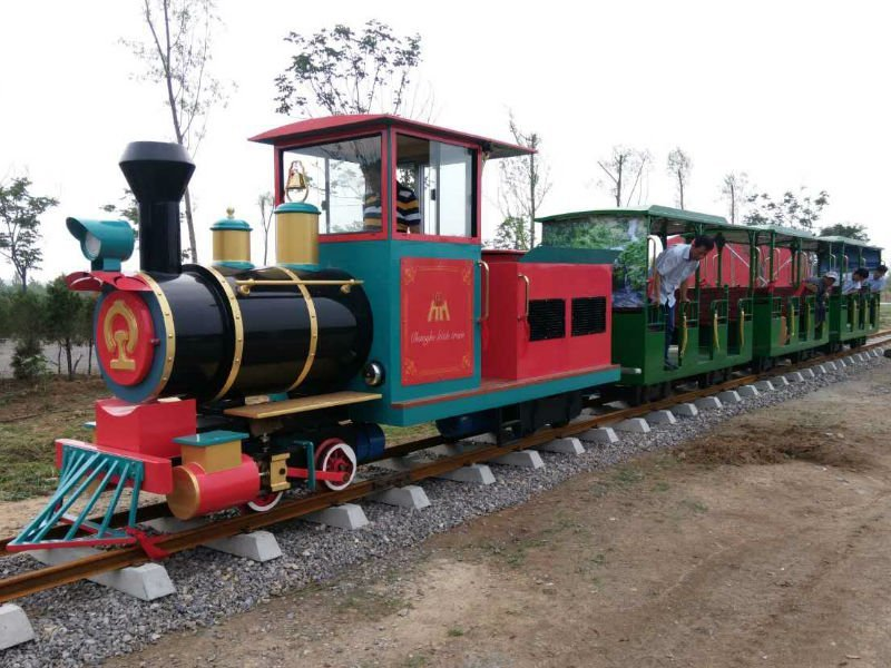 Train with Track  Amusement Equipment for Theme Park