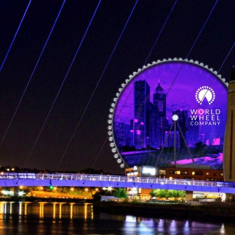 Whey Aye Newcastle 140m Ferris Wheel--taller than London Eye