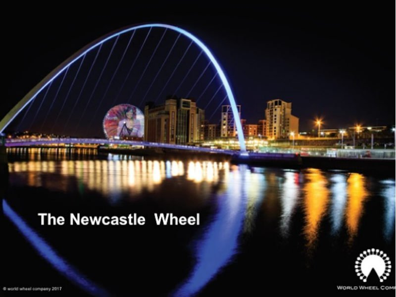 Newcastle 460ft Ferries Wheel will be taller than the London Eye