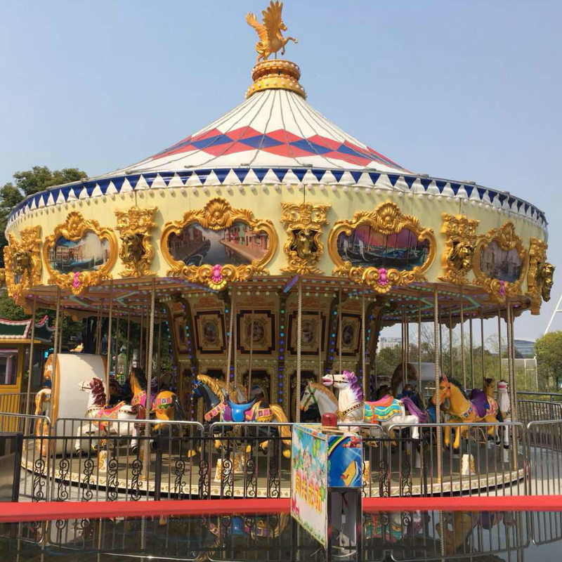 Merry Go Around 38P Golden Carousel
