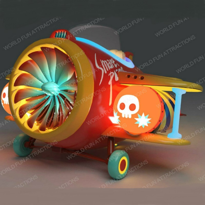 Kiddie Rides Pirate Plane