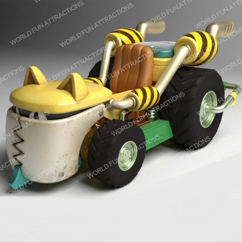 Kiddie Rides Pirate Kart