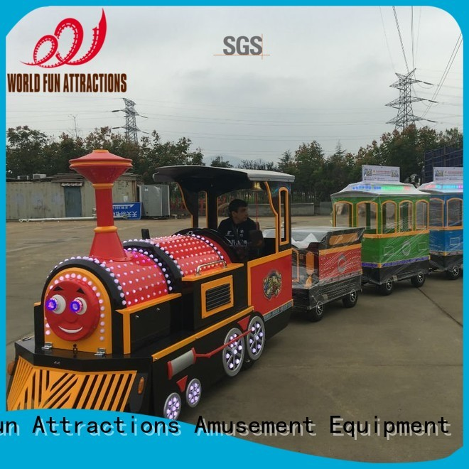 Hot trackless train for sale World Fun Attractions Brand