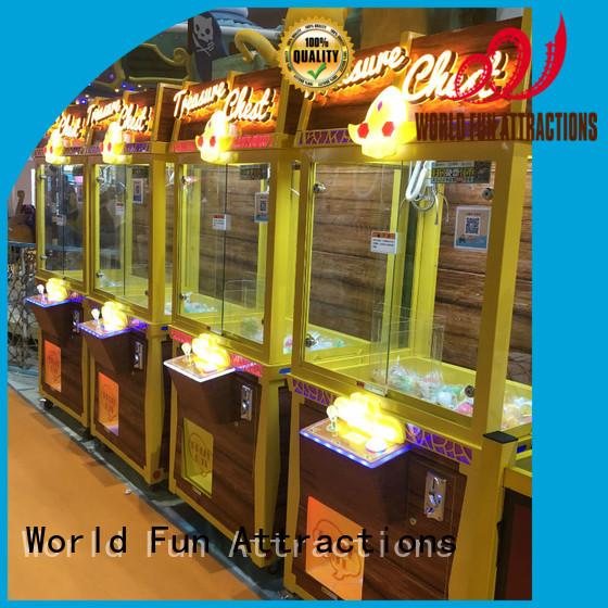 Quality World Fun Attractions Brand claw toy claw crane machine