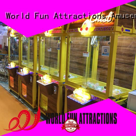 machine claw crane machine claw chest World Fun Attractions company