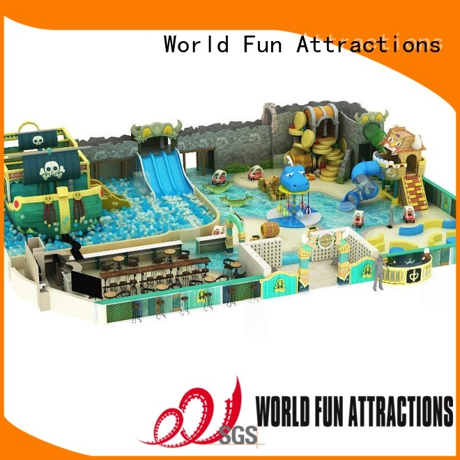 soft pool castle bounce indoor soft play World Fun Attractions