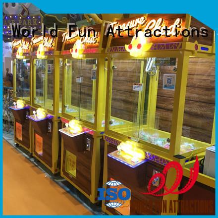 Custom machine crane claw crane machine World Fun Attractions toy