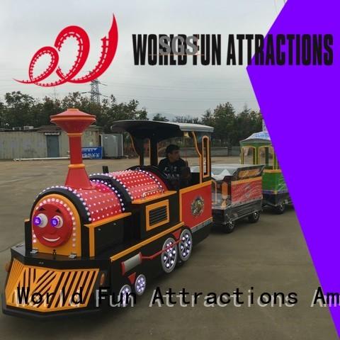 amusement park train for sale World Fun Attractions manufacture