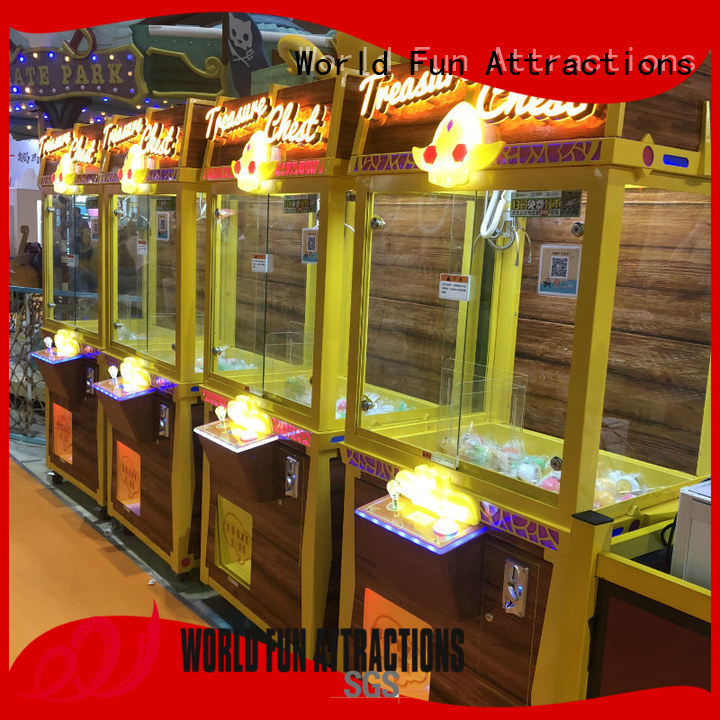Wholesale toy arcade claw machine for sale claw World Fun Attractions Brand