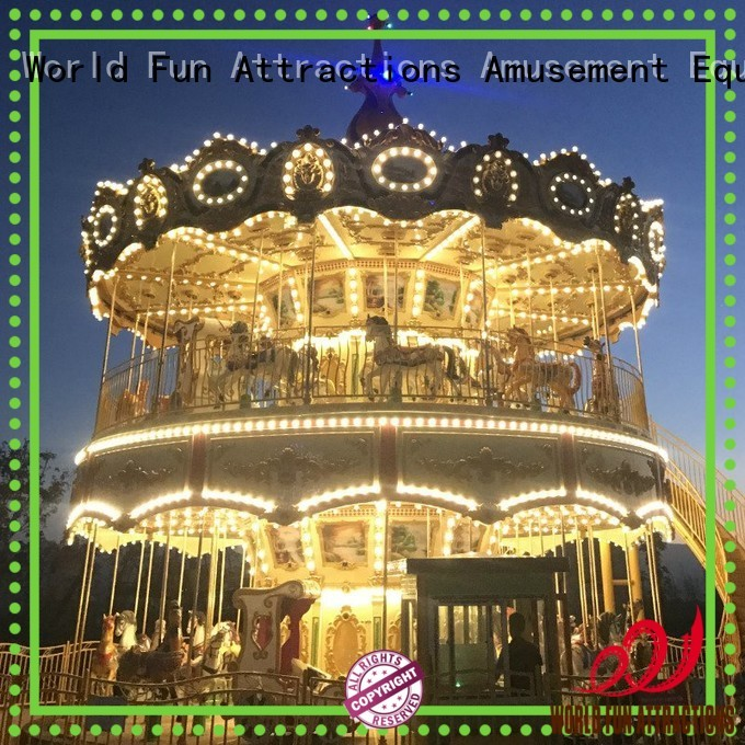 amusement park carousel surfing ocean jungle World Fun Attractions Brand company